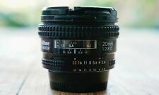 Nikon 20mm f/2.8 D AF Lens