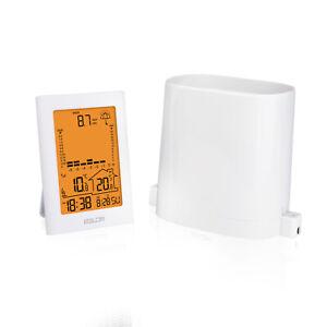 Baldr Digital Rain Gauge Weather Station Calendar Indoor Outdoor Wireless Sensor