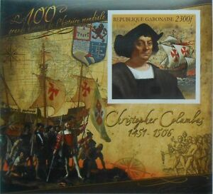 Ch. Columbus discovered of America (sailing ship) 2011 s/s Imperf MNH #P064
