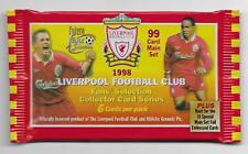 1998 Futera LIVERPOOL FC Fans Selection - UNOPENED PACK (7 Available)