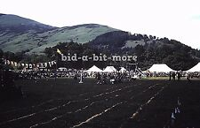 Orig Blue Border Slide,1940's/50's, Scotland, UK / The Highland Games