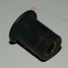 50 Stk. Gummimutter M5 Neopren/Messing für Verkleidung  Aprilia GW