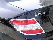Mercedes W204 C Class Chrome Tail lamp Tail light Frames ALL COUPE SALOON SEDAN