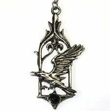 The Raven Bird Pendant Necklace Children of the Night Briar Fantasy CN09