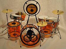 Led Zeppelin Jon Bonham Miniature Replica Drum Set NEW IN BOX