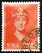 Norway Semi Postal Stamp 1939 Queen Maud Scott # B13 Used