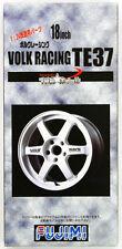 Fujimi TW11 Volk Racing TE37 Wheel & Tire Set 18 inch 1/24 scale kit