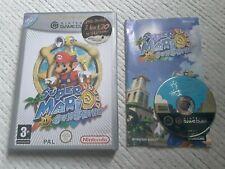 Super Mario Sunshine GameCube game PAL game cube Nintendo