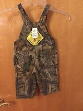 Infant Boys Lil Joey Bell Ranger Outdoor Apparel Camo Overalls Size 12 Months