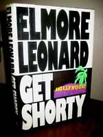 Get Shorty Elmore Leonard SIGNED 1st Edition Crime Film First Printing Mystery
