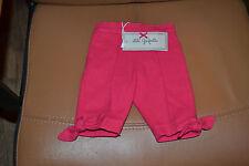 pantalon neuf lili gaufrette 3 mois rose fait gauffre petits noeuds bas