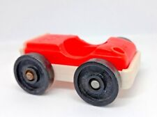 Vintage fisher price little people Play - vehicule auto rouge