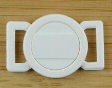 Bikini Verschluss  Weiss  für 10 mm Trägerbandbreite