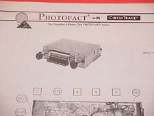 1975 INLAND DYNATRONICS AM-FM-MPX RADIO SERVICE MANUAL RX-14 CHEVROLET FORD
