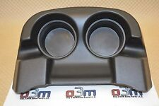 2002-2007 Ford Super Duty 2002-2005 Excursion Ebony Black Console Cup Holder OEM