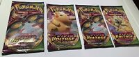 4 x VIVID VOLTAGE New Factory Sealed!! Booster Packs - Pokemon Sword & Shield