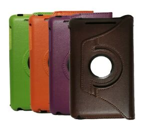 PU Leather Rotating Stand Case Cover For Google Nexus 7 1st Generation  (2012)