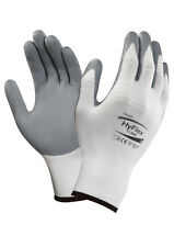 12 pr. Ansell HyFlex 11-800 Foam Nitrile Coating Glove Sz 8 We Ship by FedEx!!!