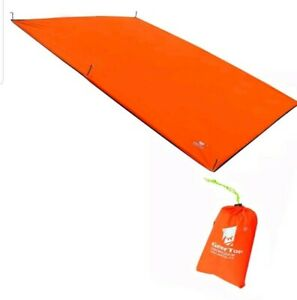GEERTOP 4-5 Person Waterproof Oxford Tent Tarp Footprint Ground Sheet Mat Canopy