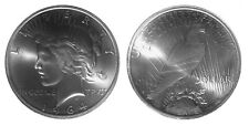 1964-D Peace dollar 90% silver over-strike by Daniel Carr Die Pair 9 High Grade