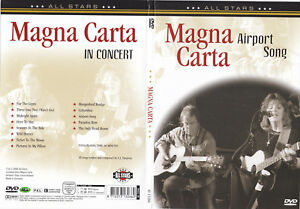 MAGNA CARTA ~ IN CONCERT ~ Airport Song DVD ALL REGIONS PAL