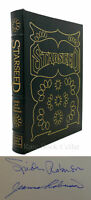 Spider Robinson & Jeanne Robinson STARSEED Signed Easton Press 1st Edition 1st P