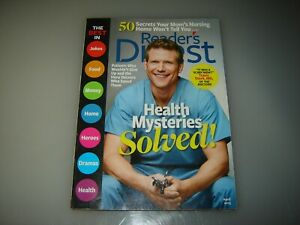 2 Reader's Digest magazines March 2013 and April 2013