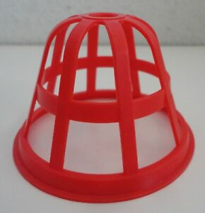 1994 Mouse Trap Game Red Cage Replacement Part Piece