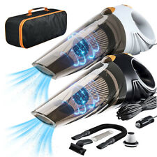 Portable Car Vacuum Cleaner Wet Dry Mini Handheld Hand Held Dust Duster 12