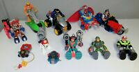 LARGE FISHER PRICE RESCUE HEROES LOT / UNTESTED & MISSING PARTS