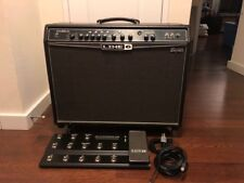 Line 6 Spider Valve 212 MKI 2x12 Guitar Combo Tube Amp with FBV Shortboard MKII