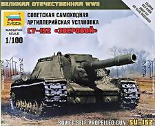 Soviet Self-propelled Howitzer SU-152 ZVE 6182