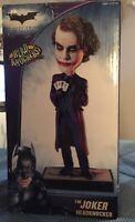 The Joker Headknocker The Dark Knight NECA Heath Ledger Bobblehead MIB