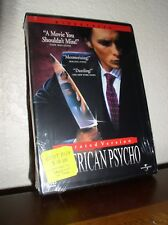American Psycho starring Christian Bale, Willem Dafoe (Dvd, 2000, Unrated,New)