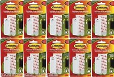 Command 17040 Plastic Picture Pin L (up to 5 Kg 1 Hook and 2 Strips White