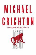Next By Michael Crichton. 9780007240999