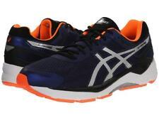 New Men's ASICS Gel Fortitude 7 Running Shoes Size 11.5 T5G2N-4993 Blue/Orange