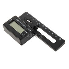 LCD Digital Display Pitch Gauge For Flybarless Helicopter 200-800 Models