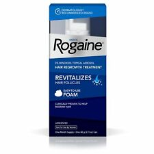 Men's Rogaine 5% Minoxidil Foam for Hair Loss and Hair Regrowth Topical Treat...