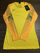 NEW Nike Gardien II Goalkeeper Long Sleeve Jersey Tour Yellow AR9769 719 Size S
