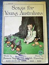 Songs for young Australians illustrated by Ida Rentoul Outhwaite