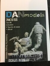 Dan Models Ukraine 1/35 Scale Wounded Soldiers In ATO Resin Figures