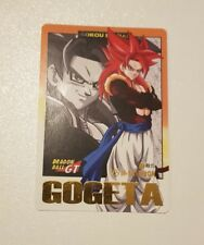 carte dragon Ball z hors serie Hondan spécial Gogeta ssj4