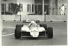 ALFA ROMEO F1 Detroit 1982 #22 DE CESARIS FOTOGRAFIA ORIGINALE OTTIME CONDIZIONI