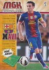N°064 XAVI # ESPANA FC.BARCELONA CARD PANINI MGK LIGA 2014
