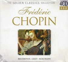 4 CD Box ♫ Compact disc **CHOPIN~BEETHOVEN~LISZT~SHUMANN** Collection nuovo