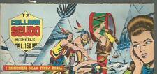 RACCOLTA RACCOLTINA STRISCIA SCUDO # 12-GRANDE BLEK-ORIGINALE-SETTEMBRE 1968-FS1