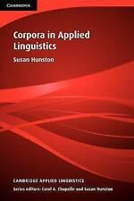 Corpora in Applied Linguistics (Cambridge Applied Linguistics)-ExLibrary