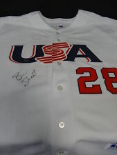 Ben Sheets Signed Team USA Russell Jersey Autograph Auto Steiner