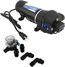 Ac 115v Self Priming Water Pressure Diaphragm Pump 17lpm45gpm 40psi28bar
